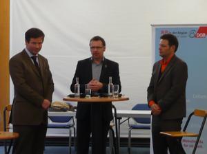 Jochen Brüggen, Ralf Erkens, Robert Habeck