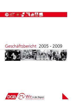 Geschäftsbericht 2005-2009