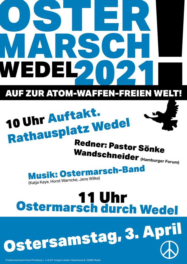 Ostermarsch Wedel 2021