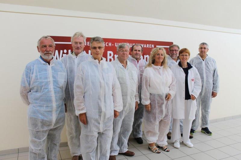 DGB-Kreisvorstand Ostholstein zu Besuch bei der Firma Brandenburg