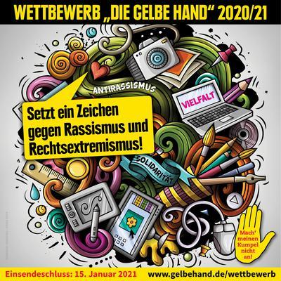 Wettbewerb Gelbe Hand