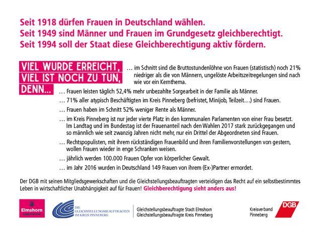Frauentag Pinneberg 2018