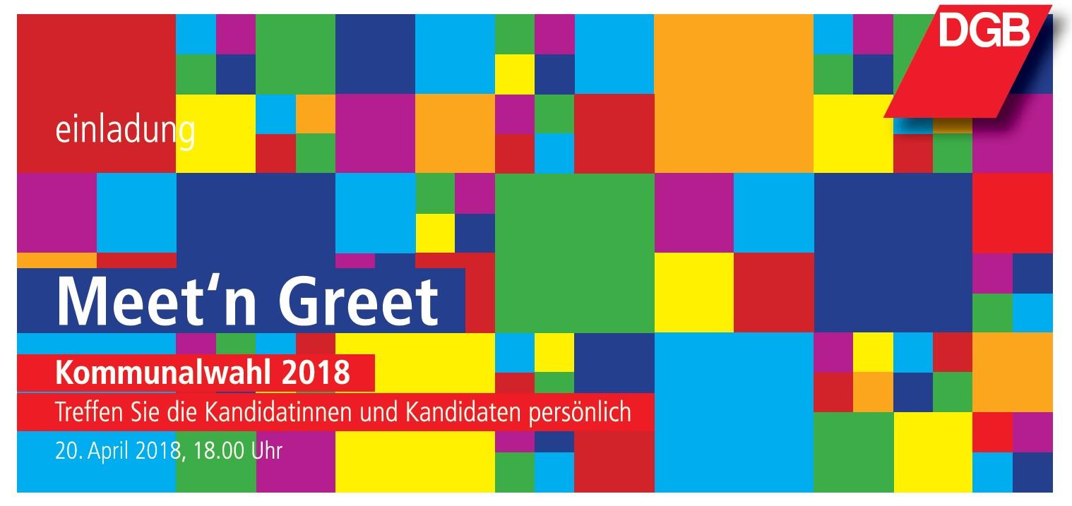 Meet'n Greet KommWahl 2018 Lübeck