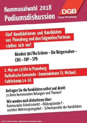 Kommunalwahl 2018 Pinneberg