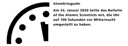 Atomkriegsuhr