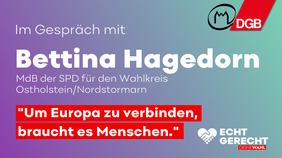 Gespräch mit Bettina Hagedorn
