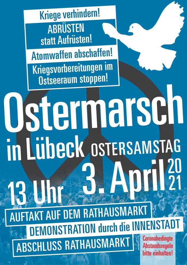 Ostermarsch in Lübeck