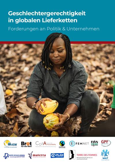 Paper mehrerer NGOs zu Geschlechtergerechtigkeit in globalen Lieferketten